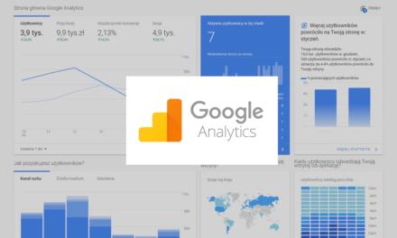 Widoki w Google Analytics – omówienie podstawowych raportów, które każdy powinien znać