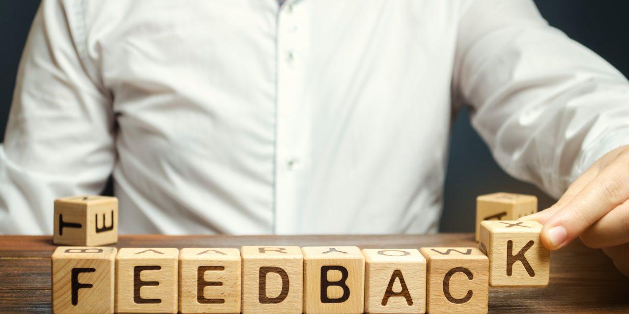 Feedback – jak prawidłowo udzielać informacji zwrotnej?