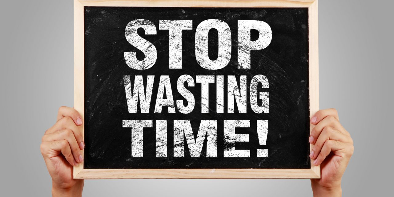 Jak nie marnować czasu?